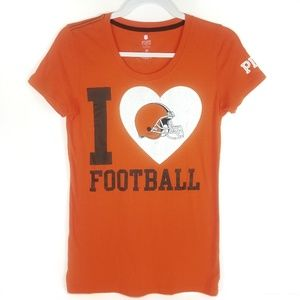 Victoria's Secret PINK Cleveland Browns Football M